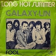 7'' - Galaxy-Lin - Long Hot Summer / Fool