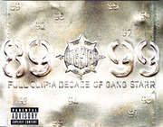 Double CD - Gang Starr - Full Clip: A Decade Of Gang Starr