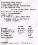 LP - Gary Numan - Dance - Gatefold