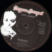12inch Vinyl Single - Gary Numan - Warriors