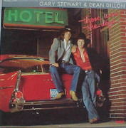 12inch Vinyl Single - Gary Stewart , Dean Dillon - Those Were The Days
