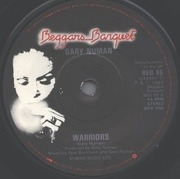 7'' - Gary Numan - Warriors