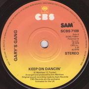 7'' - Gary's Gang - Keep On Dancin'