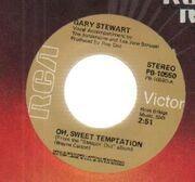 7'' - gary stewart - oh, sweet temptation