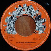 7inch Vinyl Single - Gebrüder Grimm - Die Bremer Stadtmusikanten - orange label