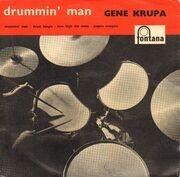7inch Vinyl Single - Gene Krupa And His Orchestra - Drummin' Man - Original German EP