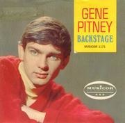 7inch Vinyl Single - Gene Pitney - Backstage - With cover