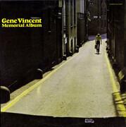 LP - Gene Vincent - Memorial Album