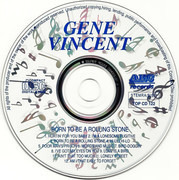 CD - Gene Vincent - Born To Be A Rolling Stone