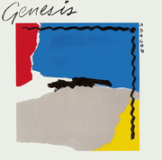 LP - Genesis - Abacab - RBYG - Red, Blue, Yellow, Gray Cover
