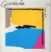 LP - Genesis - Abacab - Grey, Yellow, Blue, Red Embossed Cover
