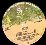 LP - Genesis - Foxtrot - MAD HATTER USA