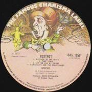 LP - Genesis - Foxtrot - UK A1 B1