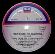 LP - Genesis - From Genesis To Revelation