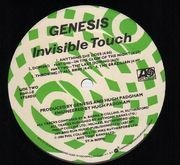 LP - Genesis - Invisible Touch - embossed cover