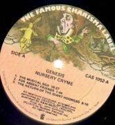 LP - Genesis - Nursery Cryme - NON GATEFOLD