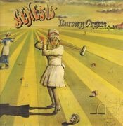 LP - Genesis - Nursery Cryme - Original 1st UK, Pink Scroll, Textured