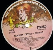 LP - Genesis - Nursery Cryme - US