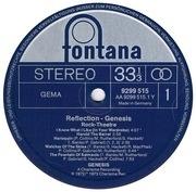 LP - Genesis - Reflection - Rock Theatre