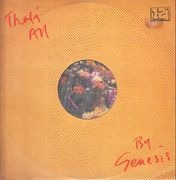 12inch Vinyl Single - Genesis - That's All / Taking It All Too Hard / Firth Of Firth