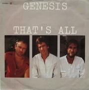 7'' - Genesis - That's All