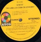 Double LP - Genesis - The Lamb Lies Down On Broadway - ATCO USA