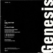 7inch Vinyl Single - Genesis - Tonight, Tonight, Tonight