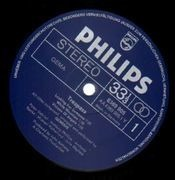 LP - Genesis - Trespass - BLUE PHILIPS LABELS