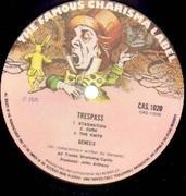 LP - Genesis - Trespass - A-2U / B-3U MATRIX