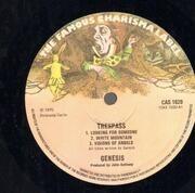 LP - Genesis - Trespass - Small Hatter Labels, Gatefold