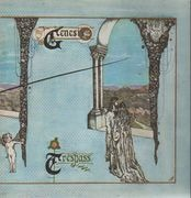 LP - Genesis - Trespass - UK Original PINK SCROLL