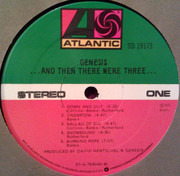 LP - Genesis - ...And Then There Were Three... - RI, Promo copy