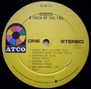 LP - Genesis - A Trick Of The Tail - RI
