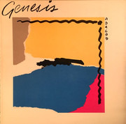 LP - Genesis - Abacab - BYRB -Brown, Yellow, Red, Blue