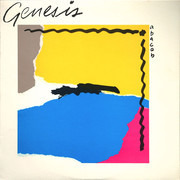 LP - Genesis - Abacab - GYRB; Grey, Yellow, Red, Blue cover, Allied Press