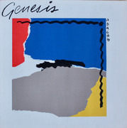 LP - Genesis - Abacab - RBYG - Red/Blue/Yellow/Grey Cover