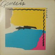 LP - Genesis - Abacab - Embossed GYRB - Grey/Yellow/Red/Blue