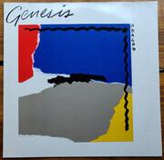 LP - Genesis - Abacab - Embossed RBYG - Red/Blue/Yellow/Grey Cover
