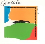 LP - Genesis - Abacab - Embossed BORG - Blue/Orange/Red/Green Cover