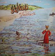 LP - Genesis - Foxtrot - Gatefold, Large Mad Hatter Labels