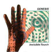 LP - Genesis - Invisible Touch - Textured Cover