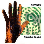 LP - Genesis - Invisible Touch - Embossed Sleeve