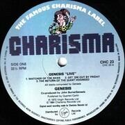 LP - Genesis - Live - UK