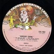 LP - Genesis - Nursery Cryme - Big Hatter Label