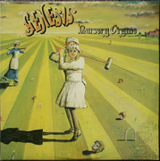 LP - Genesis - Nursery Cryme - Small Mad Hatter Labels