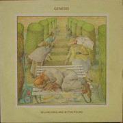 LP - Genesis - Selling England By The Pound - Small Hatter Labels