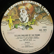 LP - Genesis - Selling England By The Pound - Large Hatter Labels