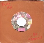 7inch Vinyl Single - Genesis - That's All