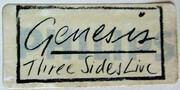 Double LP - Genesis - Three Sides Live