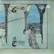 LP - Genesis - Trespass - Laminated Gatefold, Large Mad Hatter Labels